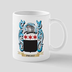 Preist Coat of Arms - Family Crest Mugs
