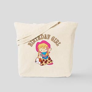 Cowkid's Birthday Girl Tote Bag