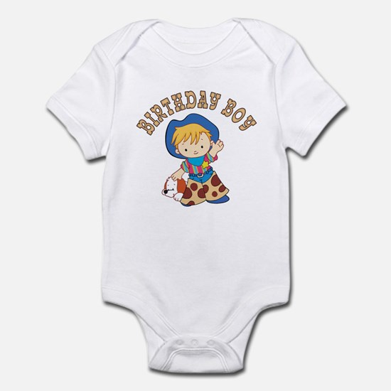 Cowkid's Birthday Boy Infant Bodysuit