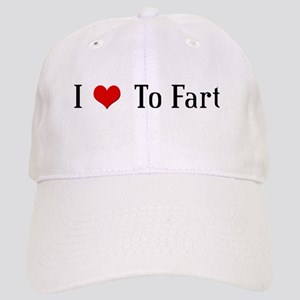 I Heart To Fart Cap