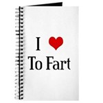I Heart To Fart Journal