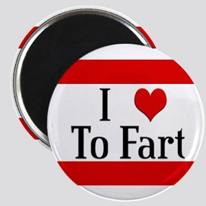 I Heart To Fart Magnet