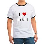 I Heart To Fart Ringer T