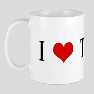 I Heart To Fart Mug