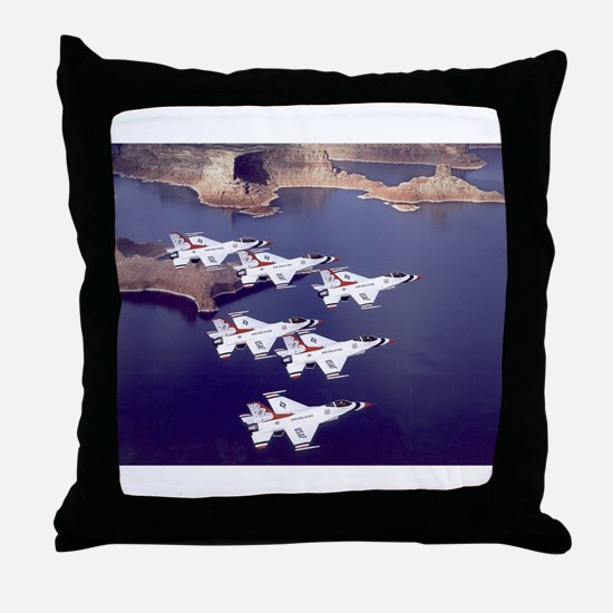Thunderbirds Throw Pillow