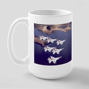Thunderbirds Large Mug