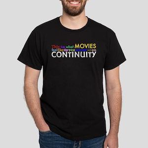 Bad Continuity Dark T-Shirt