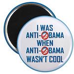 "I was Anti Obama 2.25"" Magnet (100 pack)"