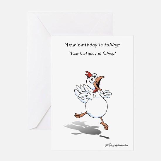 Chicken greeting cards cafepress birthday chicken greeting card bookmarktalkfo Choice Image