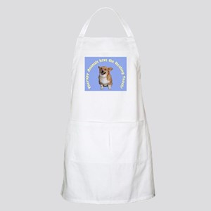 Therapy Animals..Healing Touch BBQ Apron