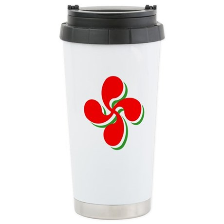 3 Color Lauburu Stainless Steel Travel Mug
