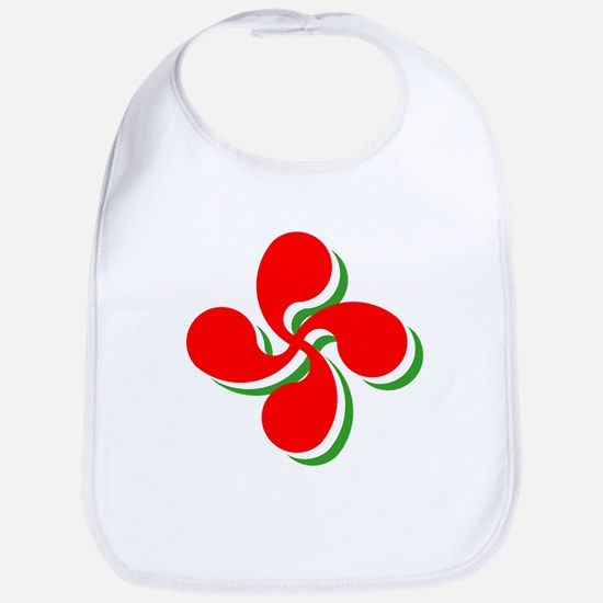 3 Color Lauburu Bib