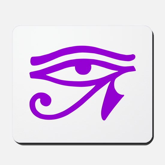 Purple Eye Mousepad