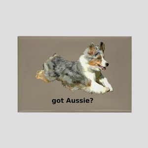 got Aussie? Rectangle Magnet