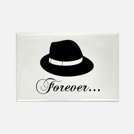 Michael Forever Rectangle Magnet