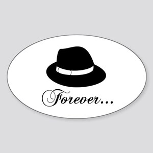 Michael Forever Oval Sticker