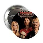"""Coven 1969 album cover 2.25"""" Button"""