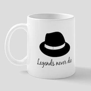 a448b5ee7ce Harambe Legends Never Die Drinkware - CafePress