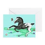 Appaloosa Foal Easter Greeting Card