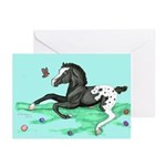 Appaloosa Foal Easter Greeting Cards (Pk of 10)