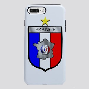 French Football Shield iPhone 8/7 Plus Tough Case