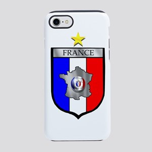 French Football Shield iPhone 8/7 Tough Case