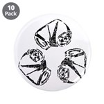 """Recycle (can) 3.5"""" Button (10 pack)"""