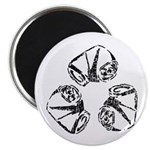 """Recycle (can) 2.25"""" Magnet (10 pack)"""