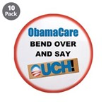 """ObamaCare 3.5"""" Button (10 pack)"""