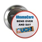 """ObamaCare 2.25"""" Button (100 pack)"""