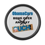 ObamaCare Large Wall Clock
