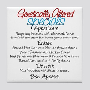 GM Foods Tile Coaster