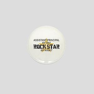 Asst Principal RockStar by Night Mini Button