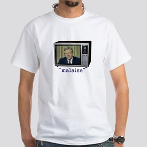 The Malaise Speech White T-Shirt