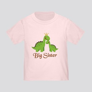 Big Sister Dino Toddler T-Shirt