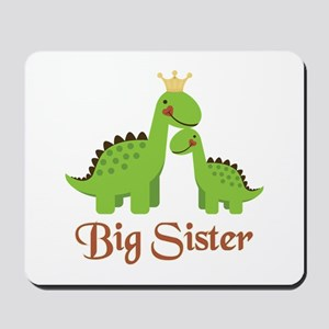Big Sister Dino Mousepad