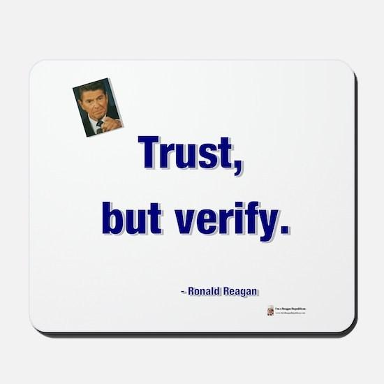 Reagan Trust Mousepad