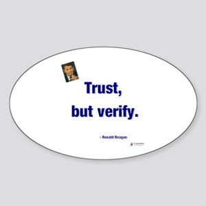 Reagan Trust Oval Sticker
