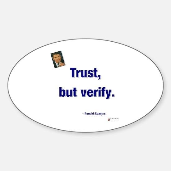 Reagan Trust Oval Decal