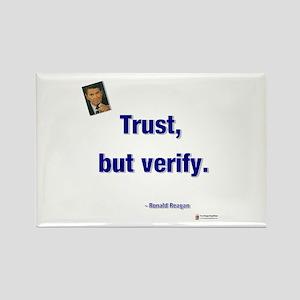Reagan Trust Rectangle Magnet