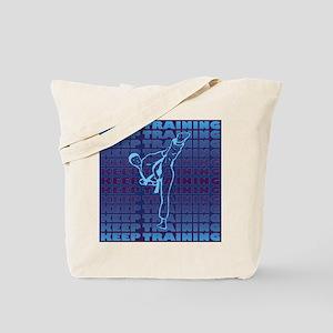 Keep Training Tote Bag