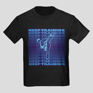 Keep Training Kids Dark T-Shirt