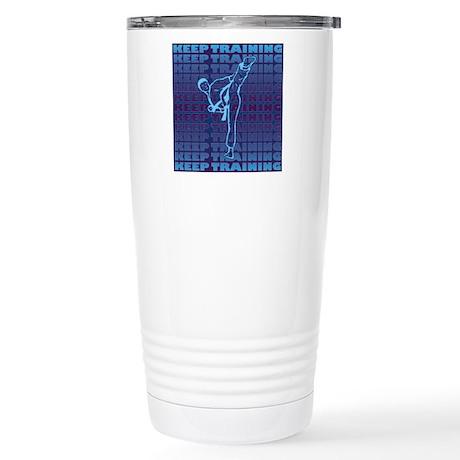 Keep Training Stainless Steel Travel Mug