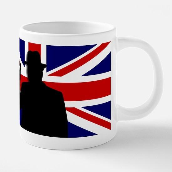 Winston Churchill Victory 20 oz Ceramic Mega Mug