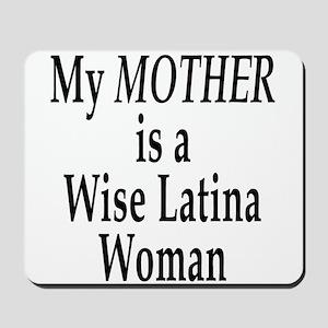 Wise Latina Mother Mousepad