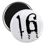 16th Birthday Magnet