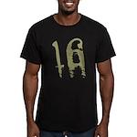 16th Birthday Men's Fitted T-Shirt (dark)