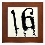 16th Birthday Framed Tile