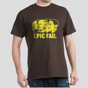 Epic Fail Obama Dark T-Shirt