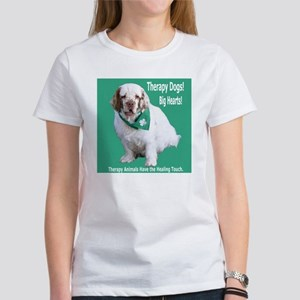 """Therapy Dogs! Big Hearts!"" Women's T-Shirt"